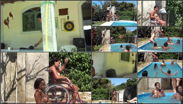 Nudist Family Resort – Oceanic Backyard Noon #1 Purenudism